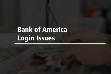 Bank of America log in issue