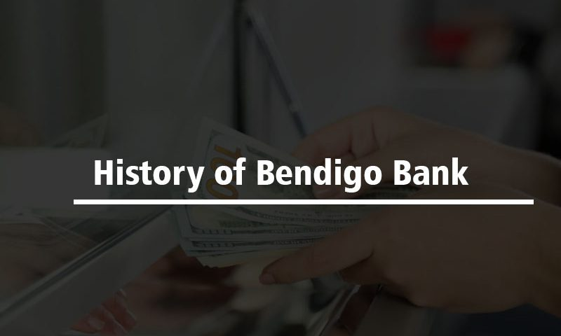 History of Bendigo Bank