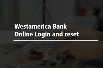 Westamerica Bank Online Login and reset