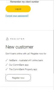 commonwealth Bank Netbanking