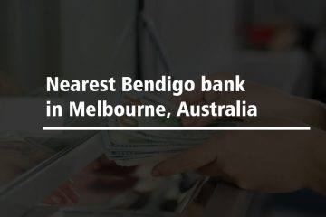 Nearest Bendigo bank in Melbourne, Australia